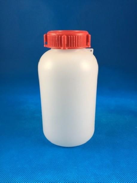 Plombázható flakon 500 ml PE