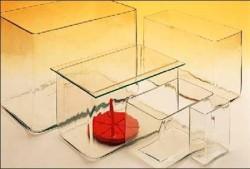 Üvegkád ma:180xh180xsz:130mm