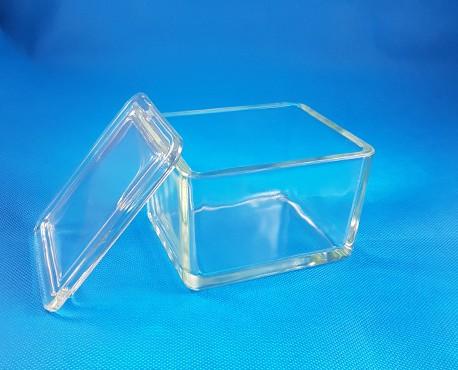 Üvegkád tetővel ma:70xh110xsz:90mm