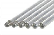 Állványrúd aluminium, bunsen- és bürettaállványhoz