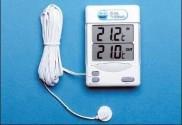 Amarell külső-belső dig.hőmérő