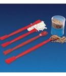 Üvegszál erősítésű piros spatula