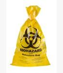 Sárga Biohazard autokláv zacskó